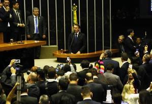 Lembrando que, ao longo do seu mandato, poderá indicar dois ministros do Supremo Tribunal Federal ( STF), Jair Bolsonaro promete indicar um magistrado