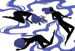 Em 2017, foram assassinadas 9 mulheres negras por dia no Brasil Foto: Arte de Nina Millen