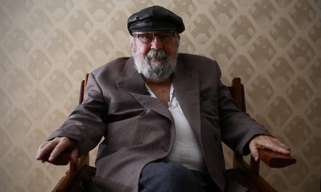 O sociólogo Francisco de Oliveira, um dos fundadores do PT Foto: Edilson Dantas / Agência O Globo (31/03/2016)
