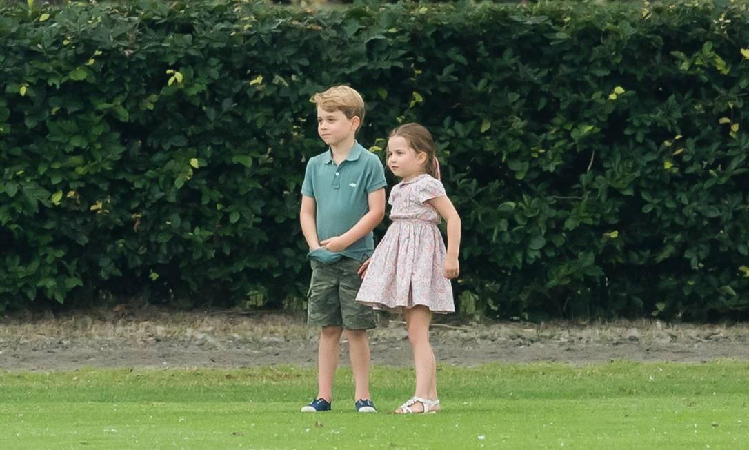 Mais de George e Charlotte Foto: Samir Hussein / Samir Hussein/WireImage