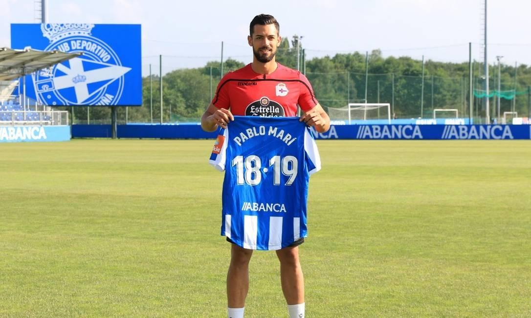 Pablo Mari pertence ao City, mas nunca jogou no clube inglês Foto: Reprodução