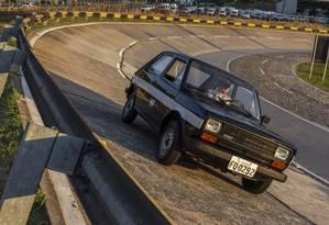 """Fiat 147 """"Cachacinha"""", o primeiro carro a álcool feito em série no Brasil Foto: Leo Lara / Studio Cerri"""