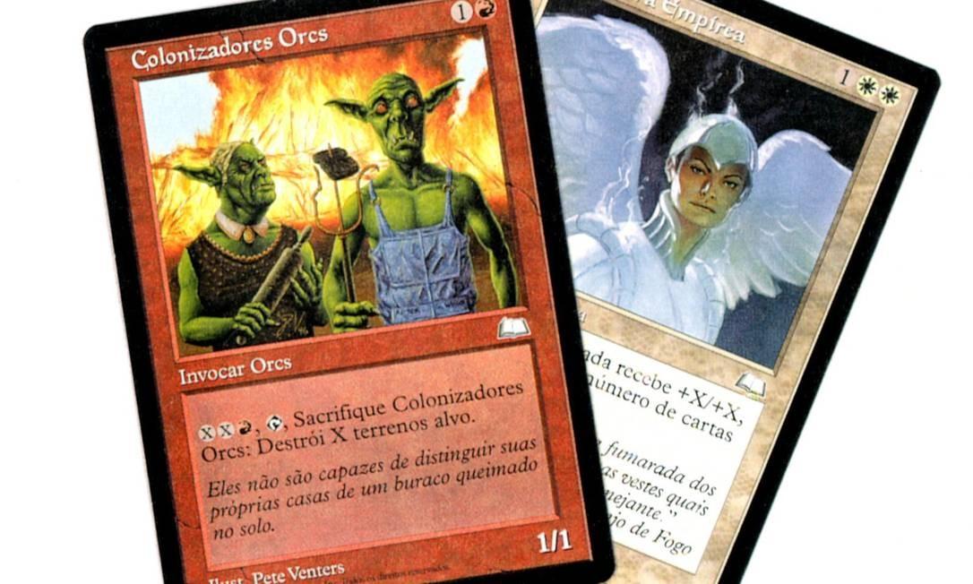 """Cartas do """"Magic"""": versão on-line. Foto: Arquivo"""