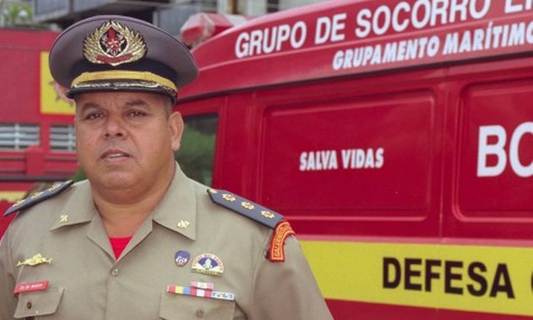 tenente-coronel Marcos Silva Foto: Pércio Campos