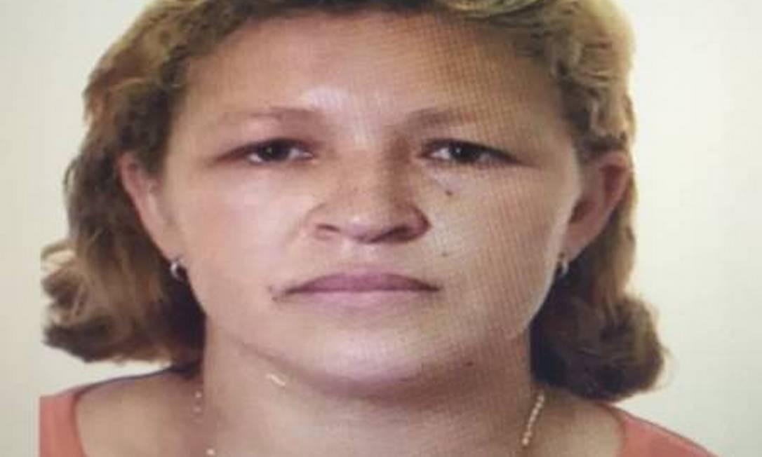 Foto de Maria Leda que consta no sistema da polícia. Ela está presa desde 2015; inocente, não identificada, foi confundida Foto: Divulgação