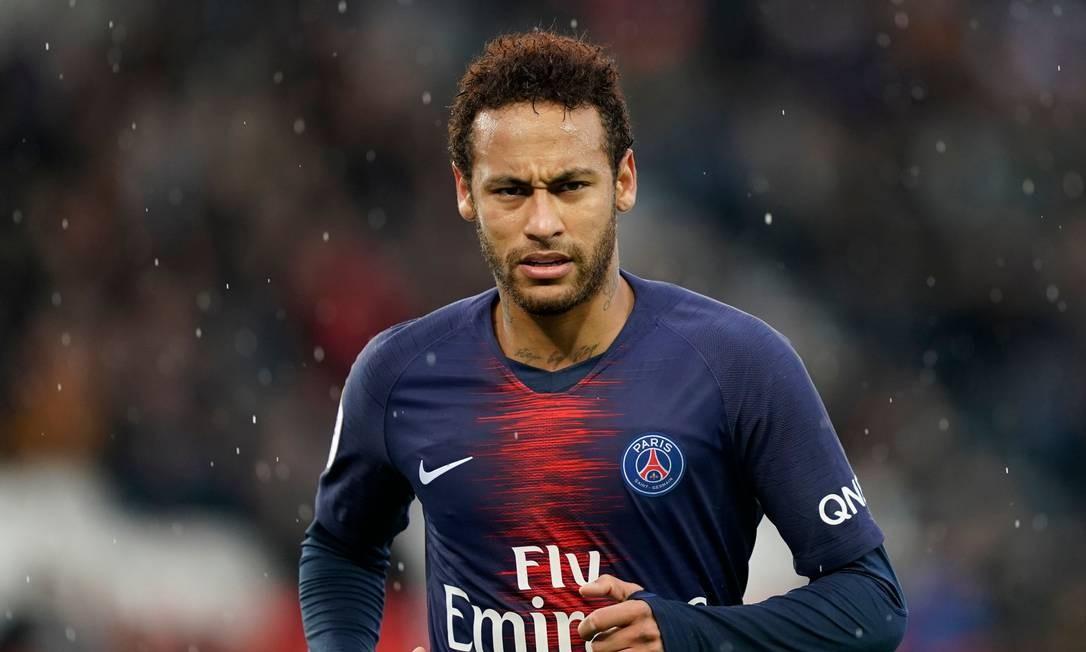 Neymar não receberá bônus por bom comportamento Foto: LIONEL BONAVENTURE / AFP