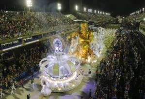 Carnaval 2019: Desfile das Escolas do grupo especial Imperatriz Leopoldinense Foto: Luís Alvarenga / Agência O Globo