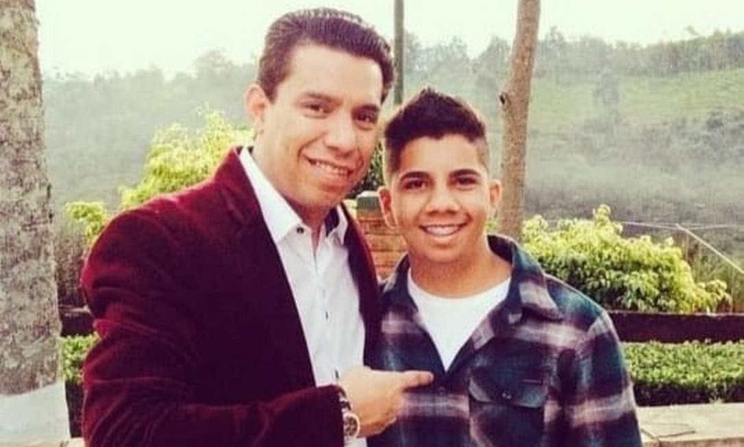 Daniel, de 21 anos, é filho biológico de Anderson e Flordelis Foto: Reprodução das redes sociais