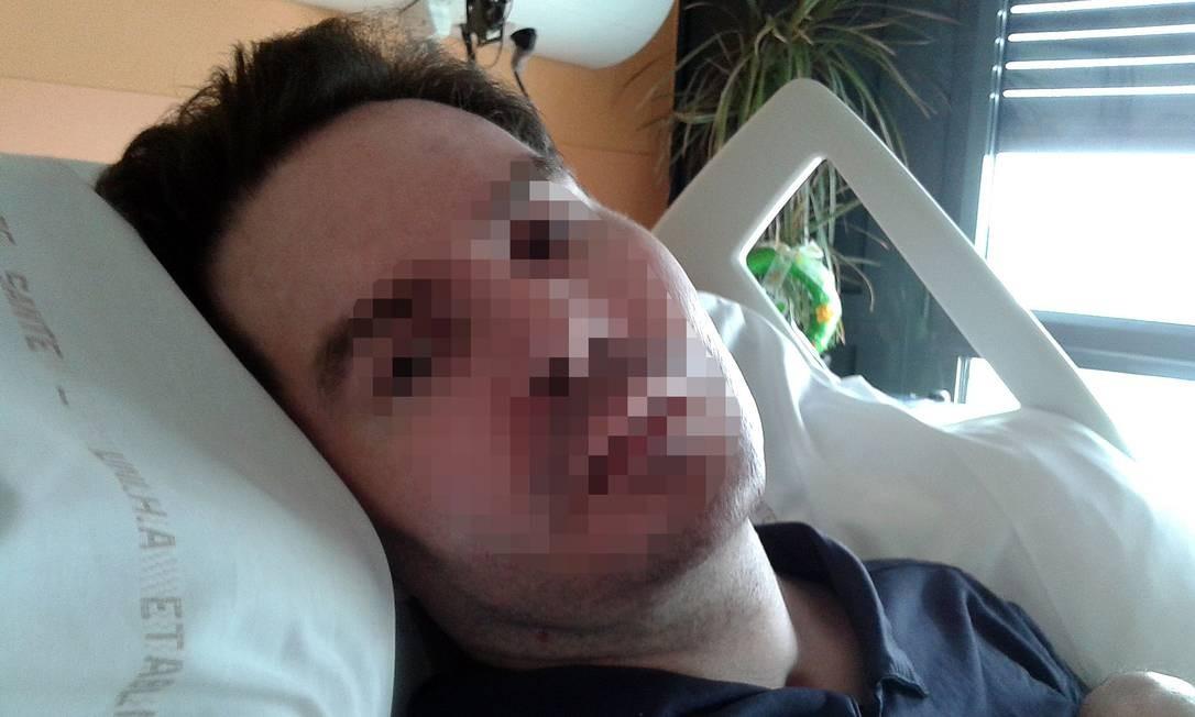 O francês Vincent Lambert, em imagem de 2015. Após 11 anos em estado vegetativo, o ex-enfermeiro morreu nesta quinta, dias após seus aparelhos serem desligados. Foto: - / AFP