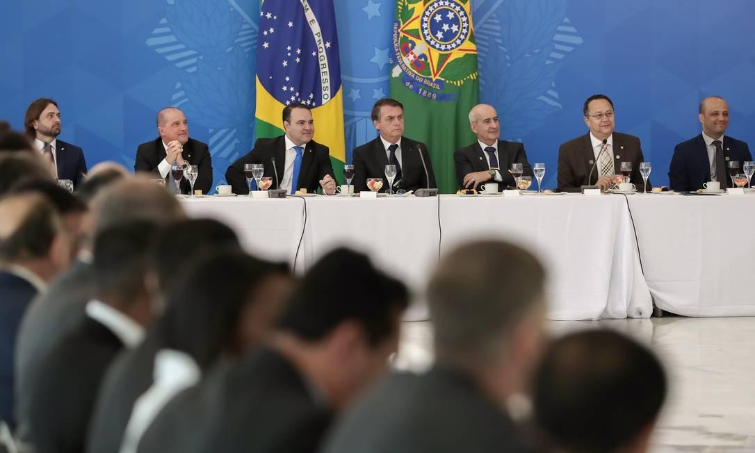 Bolsonaro disse que os parlamentares têm