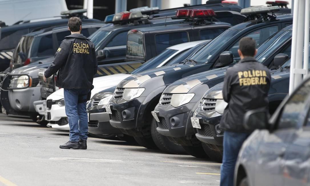 Policiais federais Foto: Tomaz Silva / Agência Brasil