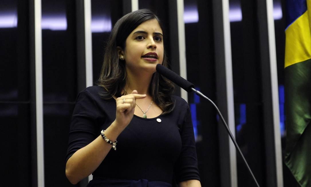 Tabata Amaral (PDT-SP) será uma das parlamentares afetadas pelas decisões da executiva nacional do partido Foto: Luis Macedo /