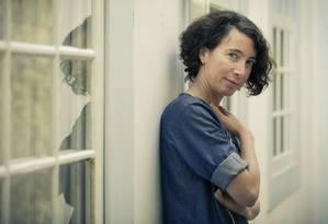 A escritora israelense Ayelet Gundar Goshen, convidada da Flip 2018, em Paraty Foto: Leo Martins / Agência O Globo