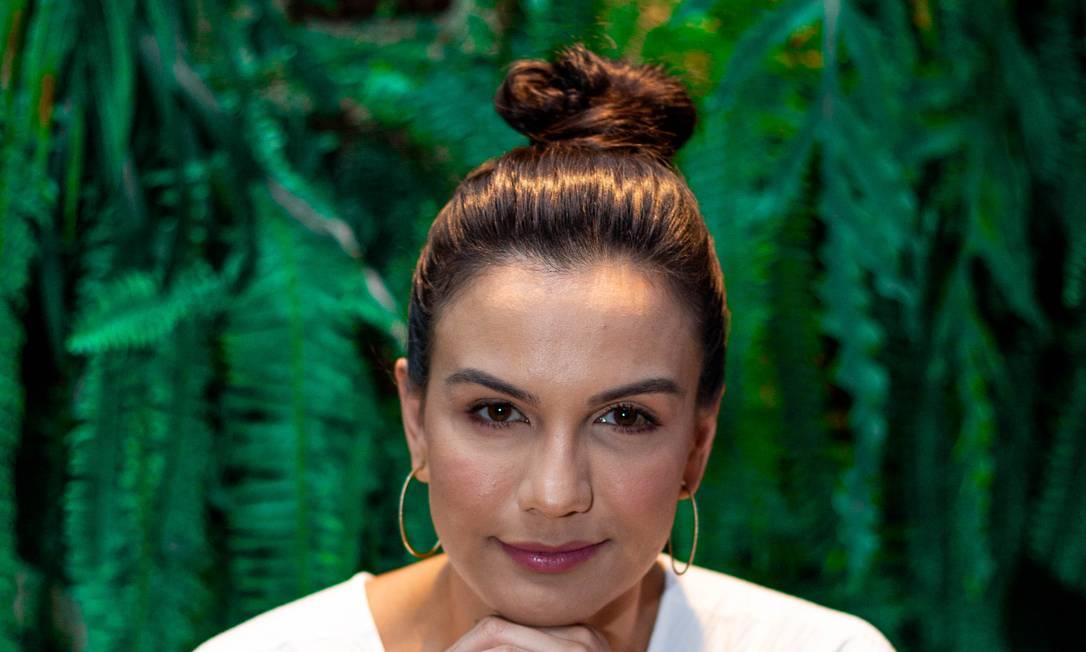 """Kyra Gracie faz questão de cuidar da aparência: """"Quando era atleta, priorizava o sono"""" Foto: Gabriela Fittipaldi / Agência O Globo"""