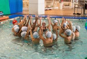 Aulas de natação na Bodytech Babies & Kids Foto: Divulgação/Alexander Landau