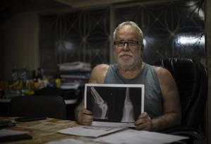 Jorge Crim: 'Não poderia imaginar que um lugar destinado à realização de perícia de pessoas com deficiência funcionaria no segundo andar e que não teria elevador' Foto: Alexandre Cassiano / Agência O Globo