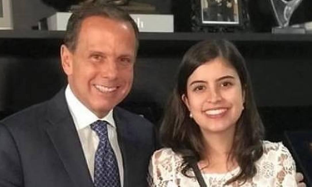 O governador de São Paulo, João Doria, elogiou a postura da deputada Tabata Amaral e disse que ela tem a cara do PSDB Foto: Reprodução/Facebook