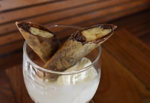 Chocoreto é opção de sobremesa do Sushimar Foto: Toinho Castro / Divulgação