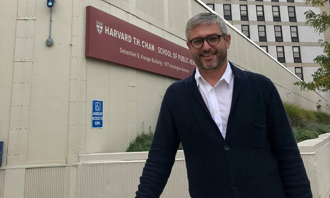 O médico sanitarista Adriano Massuda Foto: Arquivo pessoal