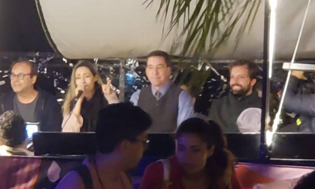 Glenn Greenwald na Flip Foto: Reprodução