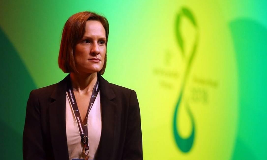 A presidente-diretora da Agência Nacional de Águas (ANA), Christianne Dias Foto: Raylton Alves / Banco de Imagens ANA