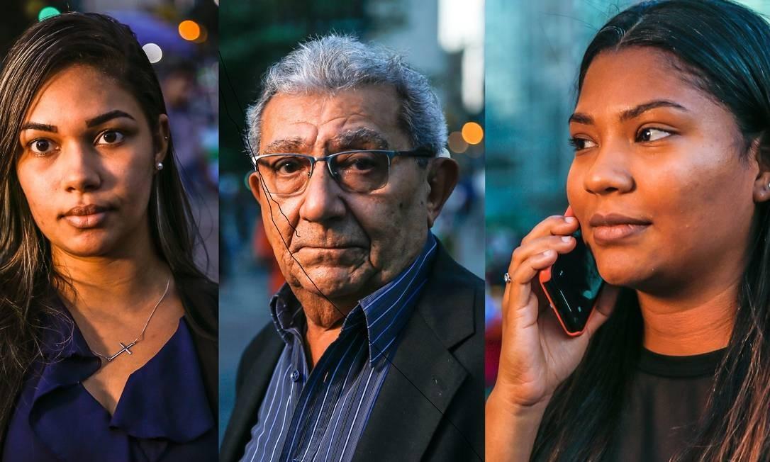 Bianca, Manoel e Bárbara já passaram muito incômodo com ligações indesejadas Foto: Marcelo Régua