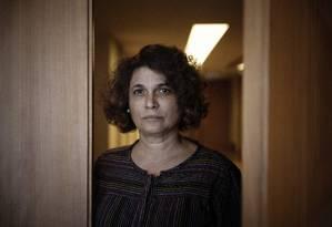 A moçambicana Maria do Céu, que conheceu João Gilberto em 1984 e pleiteia união estável Foto: Leo Aversa / Agência O Globo