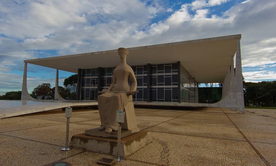 Fachada do Supremo Tribunal Federal Foto: Dorivan Marinho / Divulgação/STF