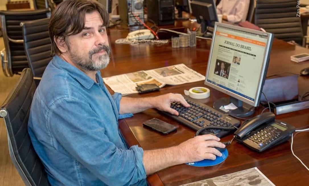 Rogério Daflon foi repórter de esportes, política, arquitetura, urbanismo e meio ambiente Foto: Reprodução