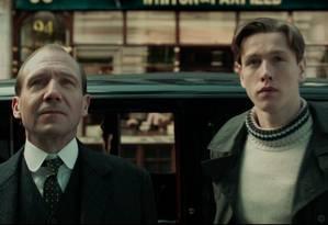 'King's Man: a origem': Ralph Fiennes será mentor de Harris Dickinson Foto: Divulgação