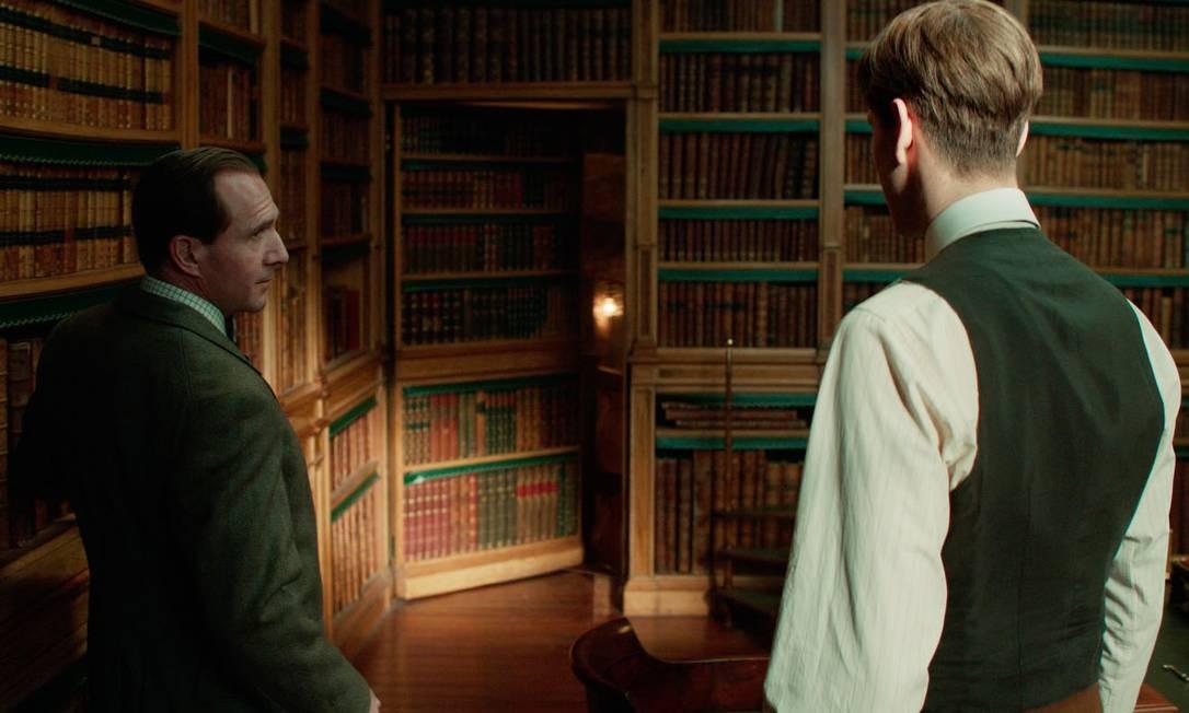 'King's Man: a origem', com Ralph Fiennes, Harris Dickinson e outros Foto: Divulgação
