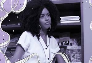Juliana Andrade Lessa é aluna do Colégio Pedro II e defende maior inclusão de jovens negros na educação Foto: Reprodução de vídeo