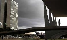 Palácio do Planalto e Congresso Nacional Foto: Givaldo Barbosa/Agência O Globo