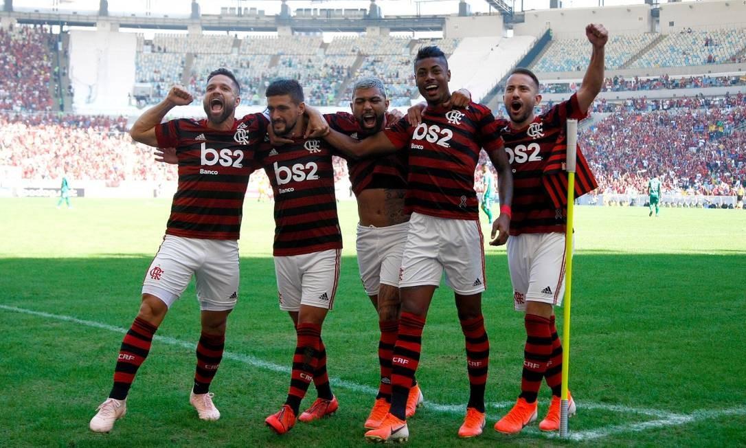 Flamengo foi último time a anunciar patrocínio de site de apostas Foto: Marcelo de Jesus/Raw-image/Agência O Globo