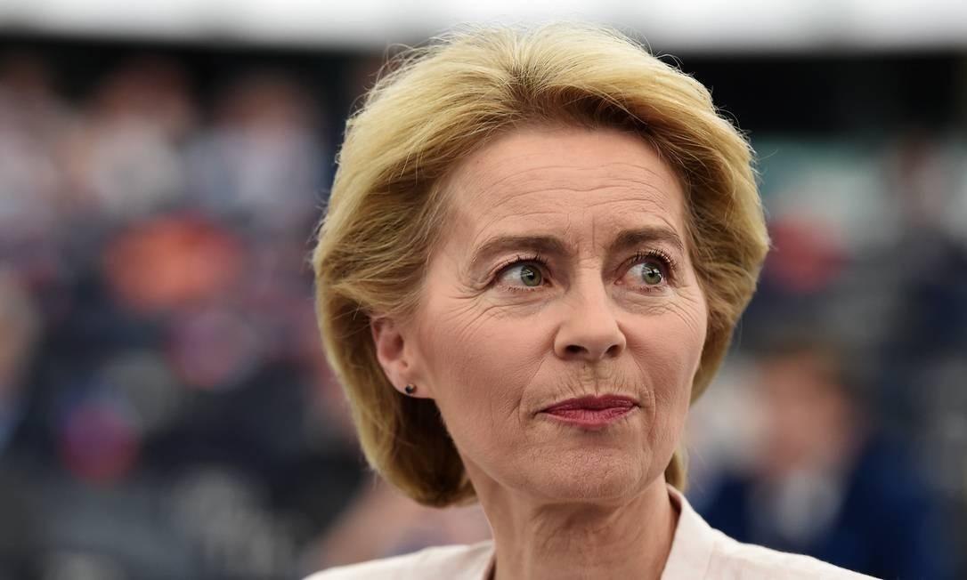 A presidente eleita da Comissão Europeia tem em seu currículo uma longa atuação como ministra, mas também crises políticas e pessoais Foto: FREDERICK FLORIN / AFP