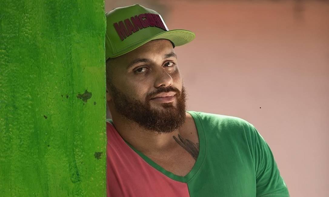 Leandro Vieira, carnavelsco da Mangueira Foto: Ana Branco / Agência O Globo