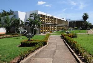 Prédio da UFMT: universidade solicitou recursos do MEC para pagar conta de luz Foto: Divulgação