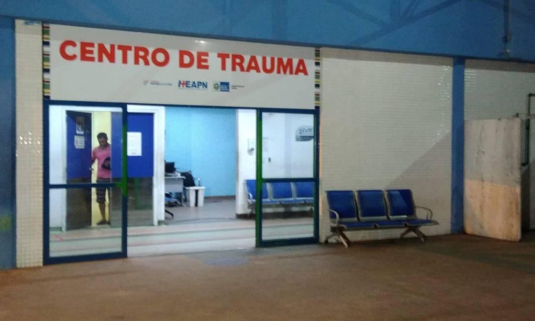 Eliane da Penha Cândido, de 49 anos, foi levada para o Hospitalestadual Adão Pereira Nunes Foto: Agência O Globo