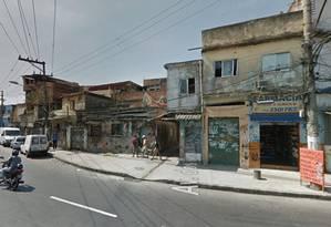 A comunidade do Jacarezinho Foto: Google Street View / Reprodução