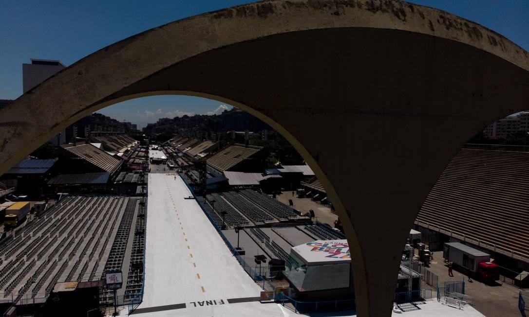 O objetivo com as novas instalações é intensificar a ocupação da área Foto: Brenno Carvalho / Agência O Globo