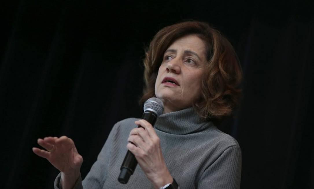 Miriam Leitão foi cortada de evento literário após ameaças Foto: Edilson Dantas / Agência O Globo