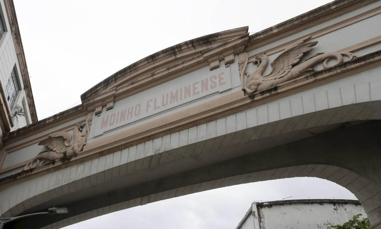 O Moinho é uma autêntica fábrica inglesa e teve seu alvará dado pela princesa Isabel, filha do Imperador Dom Pedro II Foto: Domingos Peixoto / Agência O Globo