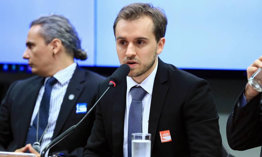 Guilherme France, coordenador de Pesquisa da Transparência Internacional Foto: Alex Ferreira / Câmara dos Deputados