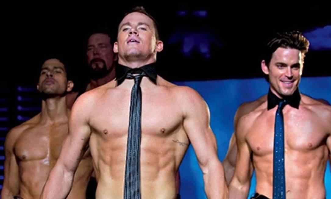 """Channing Tatum também tirou a roupa em """"Magic Mike"""" Foto: Divulgação"""