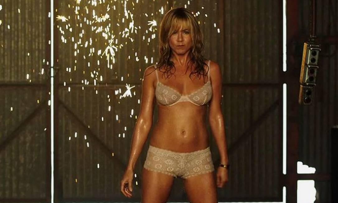 """Jennifer Aniston revelou a boa forma na comédia """"We're the Millers"""" Foto: Divulgação"""