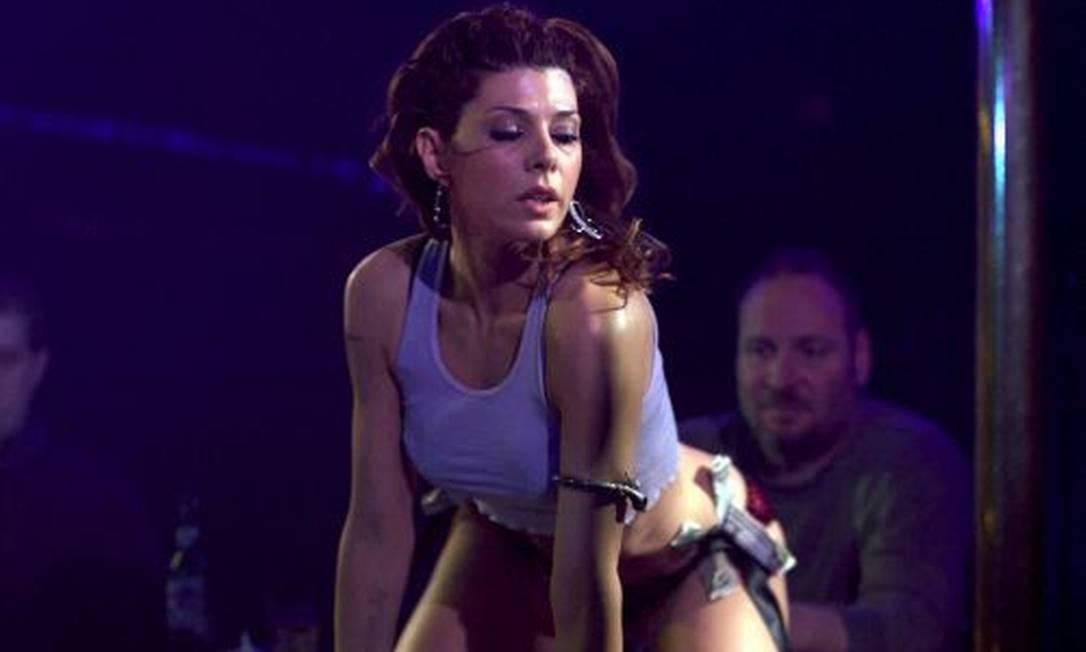 Marisa Tomei també brincou de pole dance em 'O lutador' Foto: Divulgação