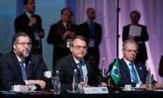 O presidente Jair Bolsonaro participa da 54ª Cúpula do Mercosul Foto: Alan Santos / Presidência