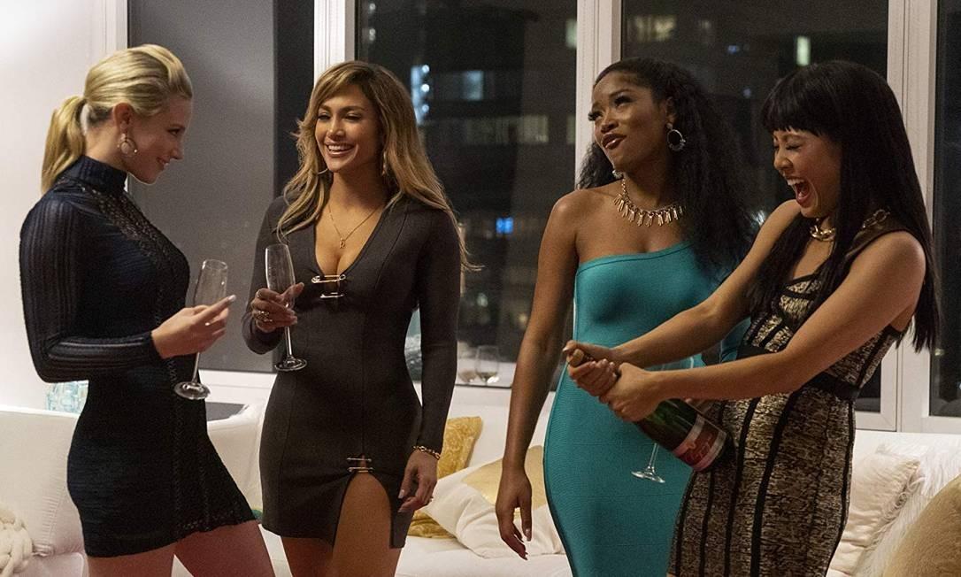 Jennifer Lopes em cena do filme 'Hustlers' Foto: Divulgação