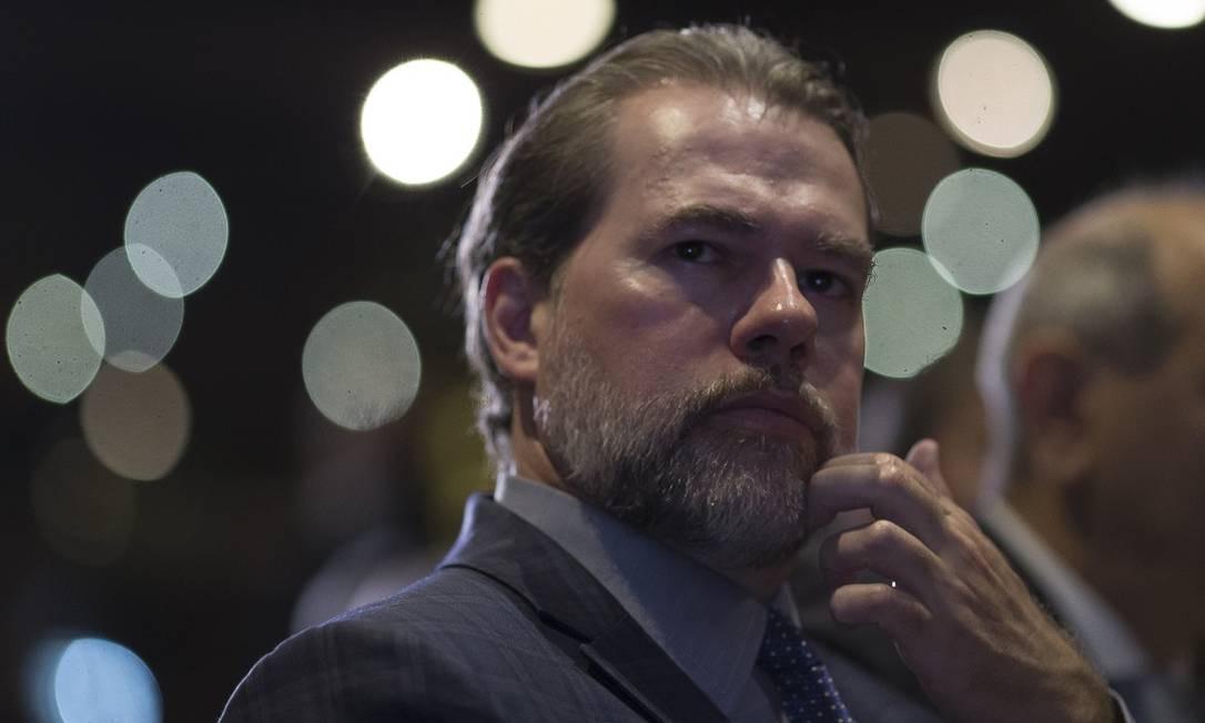 Segundo o presidente do Supremo, a medida não impede investigações Foto: Edilson Dantas / Agência O Globo