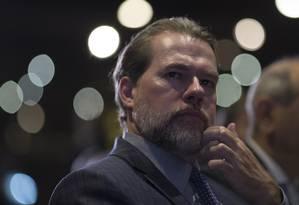 Dias Toffoli, presidente do STF Foto: Edilson Dantas / Agência O Globo
